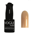Vogue Nails, База Rubber,  бежевая, 10 мл