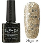 Гель-лак Magic Glitter Elpaza 15
