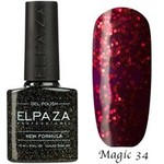 Гель-лак Magic Glitter Elpaza 34