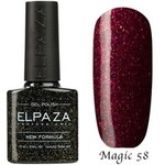 Гель-лак Magic Glitter Elpaza 58