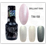 Купить  TARTISO Гель лак  TIME BRILLIANT RAIN 158, 15 мл