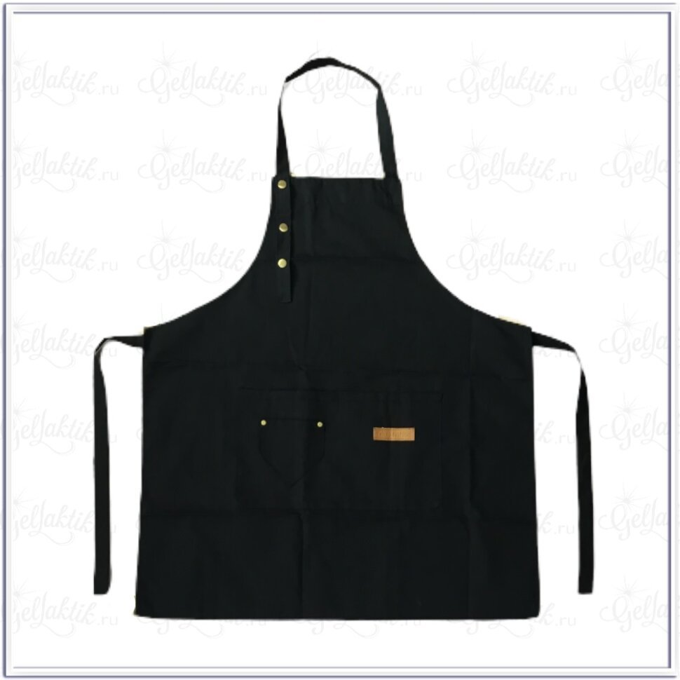 Фартук универсальный, черный – купить по цене 700 руб.